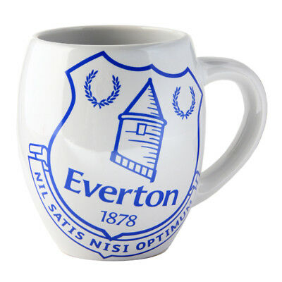 Everton FC Tea Tub Mug Cup Coffee Ceramic In A Clear Acetate Gift Pack New Xmas
