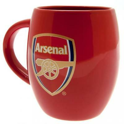 Arsenal FC Tea Tub Mug Cup Coffee Ceramic In A Clear Acetate Gift Pack New Xmas