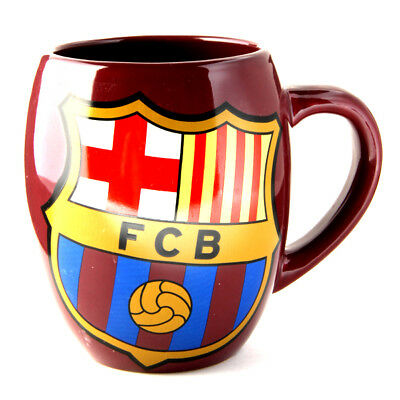 FC Barcelona Tea Tub Mug Cup Coffee Ceramic In A Clear Gift Pack New Xmas