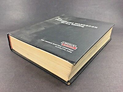 The PROCEDURE HANDBOOK of ARC WELDING ~ Lincoln Electric 1973 ~ 12th Ed.