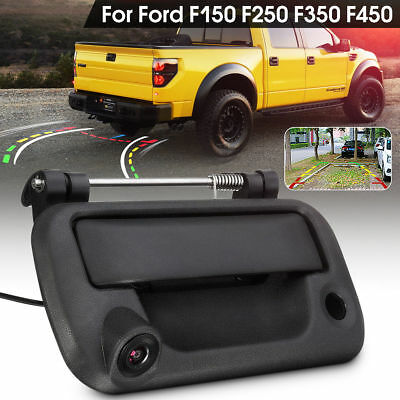 2in1 Tailgate Handle Rear View Backup Camera For Ford F150 F250 F350 F450 04-14