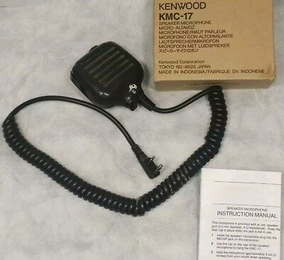 USED Good Working Cond. Kenwood Speaker Microphone KMC-17 KMC17 Box NOT included
