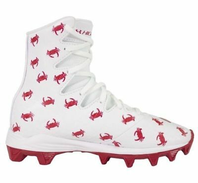Under Armour Highlight Limited LE Crab Youth Lacrosse LAX Cleats 1297357-100 $60