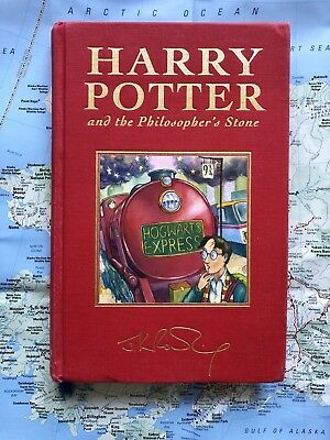 Rare Harry Potter And Philosopher's Stone UK Deluxe First Edition 4th Print