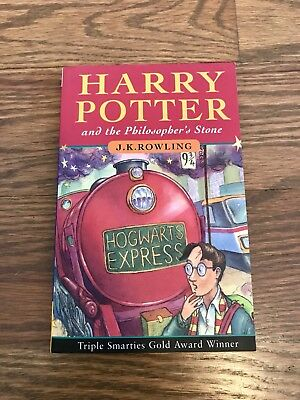 Harry Potter And Philosopher's Stone First Edition 85th Print Rare