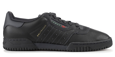 ADIDAS YEEZY POWERPHASE Calabasas Core Black Kanye West CG6420 Size 4 14 NEW DS