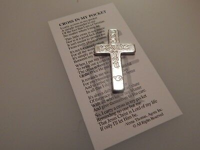 Pocket Cross with card