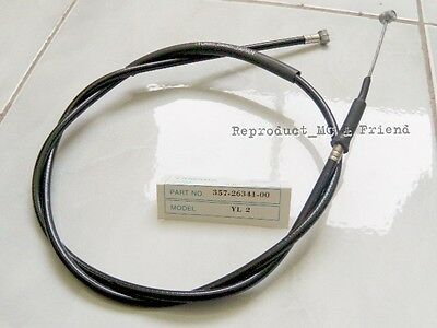 Yamaha YL2 YL2E YL2GM YB100 YB90 GT80 Front Brake Cable (L = 1125mm.) New