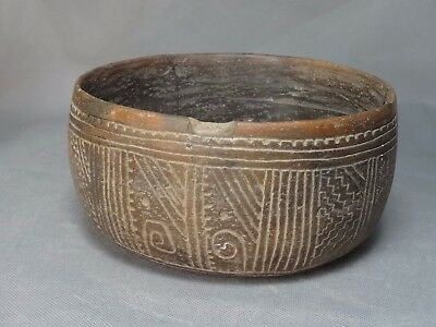 Pre Columbian Mesoamerica (looks Aztec)or Southeast United States Bowl Pottery
