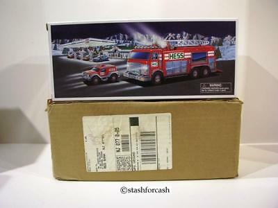 2005 Hess Emergency Truck with Rare Brown Shipping Carton