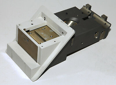 Leica DM-IRBE Microscope Focus Stage Carrier, For Parts or Repair, 10 mm Travel