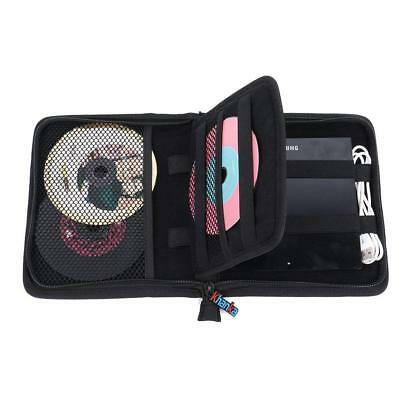 USB CD DVD Writer Blu-Ray External Hard Drive Protective Storage Carrying Case