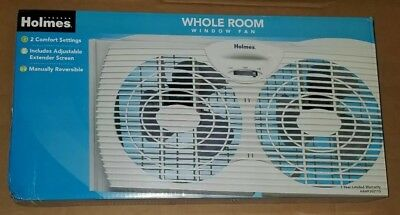 HOLMES HAWF2021 DUAL Blade Twin Window Fan - $25 39 | PicClick