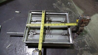 """Commercial Actuated Balancing Damper 12""""x14"""" Galvanized"""