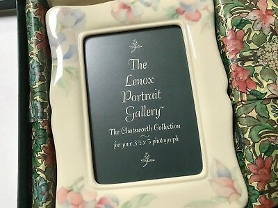 "Lenox Portrait Gallery Picture Frame 3.5"" x 5"", NEW in box, JPID"