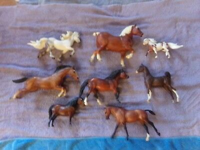 Breyer Mixed Lot of 8 - Great for customizing - Cheap!!!!
