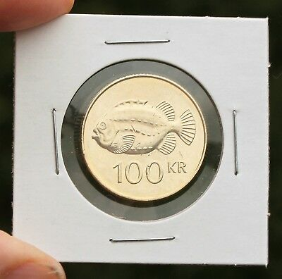 2011 Iceland 100 Kronur; Circulated