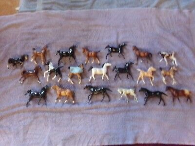 Breyer Mixed Lot of 20 Paddock Pals and Classic Foals - For Play or Use! Cheap!!