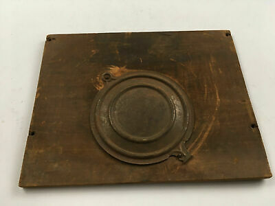 Vintage Rear Clock Panel with Door for Parts Repair ML380