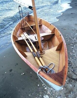 Skerry 15' Rowing And Sailing Boat, Builder's Plans