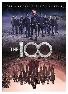 The 100 Season 5 Dvd Brand New Sealed The Complete Fifth Season Cw Eliza Taylor
