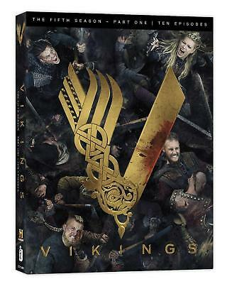 Vikings Season 5 Volume 1 Dvd Brand New Sealed The Complete Fifth Season Vol 1