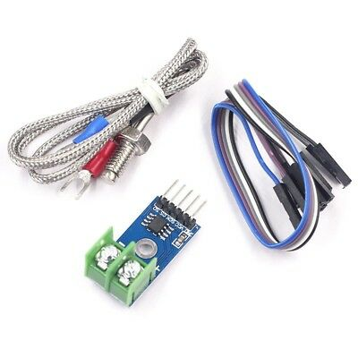 MAX6675 Type K Thermocouple Module, Temperature Sensor With Cable for Arduino