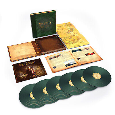 Howard Shore Lord Of The Rings: Return Of The King: Complete Vinyl 6 LP NEW seal