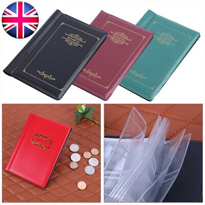 120 Album Coin Collection Penny Money Storage Case Book Folder Holder Collecting