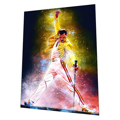 "Queen with ""Bohemian Rhapsody"" Wall Art - Graphic Art Poster"