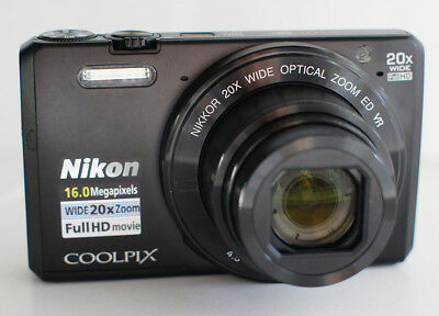 Nikon Coolpix S7000 16MP 1080p WiFi App Shoot 3 In LCD Digital Camera