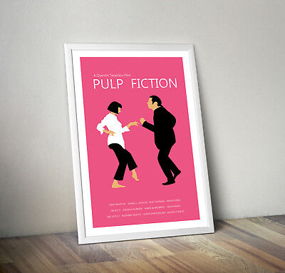 Pulp fiction, print, poster, quentin tarantino, Movie quote, wall art, gift,