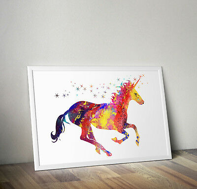 Unicorn print, poster, prints, posters, quote, wallart, gift, party, bedroom