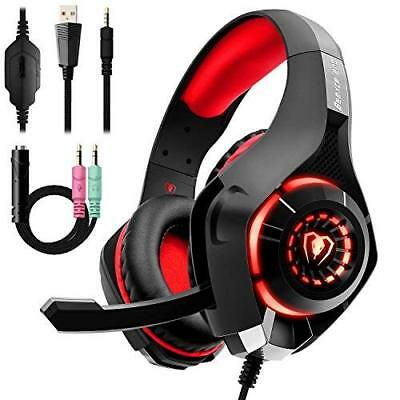 RED CUFFIE GAMING per PS4 Xbox One 3b528247ebb3
