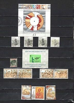 Cyprus - Lot Of Early Used  Stamps {CY41}