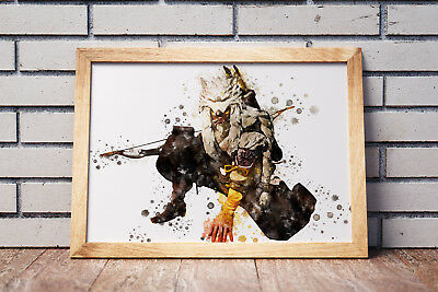 Overwatch Poster Gaming Room Wall Decor Print PC Game Art Gift n075