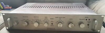 Berning TF-10 tube Preamp Rebuilt by manufacturer