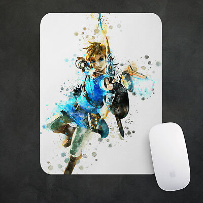 Legend of Zelda Mouse Pad  Gaming Mousepad 38x48cm Desk Mat PC Game Gift n035
