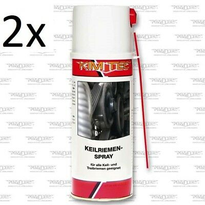 2x Kim Tec Keilriemenspray Keilriemen Spray Belt Dressing 400ml