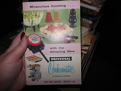 1957 Universal Cookamatic Recipe & Instruction Booklet