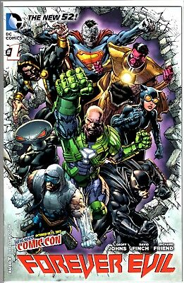 DC Comics NEW 52 FOREVER EVIL #1 NYCC COMIC CON VARIANT COVER