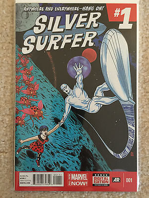 Silver Surfer #1 (May 2014, Marvel)