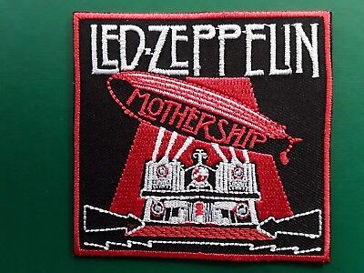 Led Zeppelin British Mothership Heavy Rock Music Band Embroidered Patch Ukseller