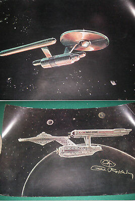 Star Trek USS Enterprise Evolution 11X17 Poster Set RARE Jeffries 1970s Lincoln