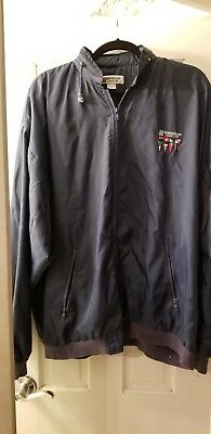 Norwegian Cruise Line NCL Windbreaker/ RAIN  Jacket qith hood  SIze XL