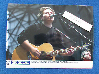 "Original Press Photo - 8""x6"" - Turin Brakes - 2003 - A"