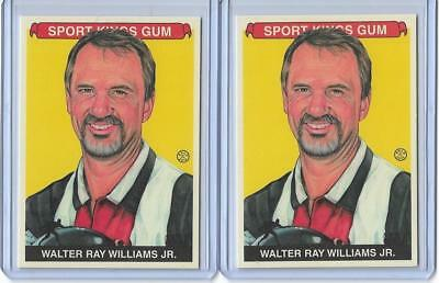 (2) 2013 Sport Kings Walter Ray Williams Jr. Card #303 Lot Base & Premium ~ Pba