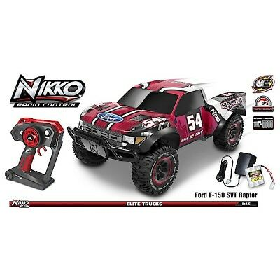 NIKKO ELITE 1:14 TRUCK (W/SFX) FORD F-150 SVT RAPTOR RC Car Toy State  12 8mph