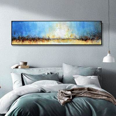 YA1011 Large Modern Hand-painted abstract Scenery oil painting on canvas Dawn