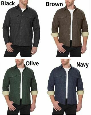 Freedom Foundry Men's Chamois Flannel, Vary Size &Color
